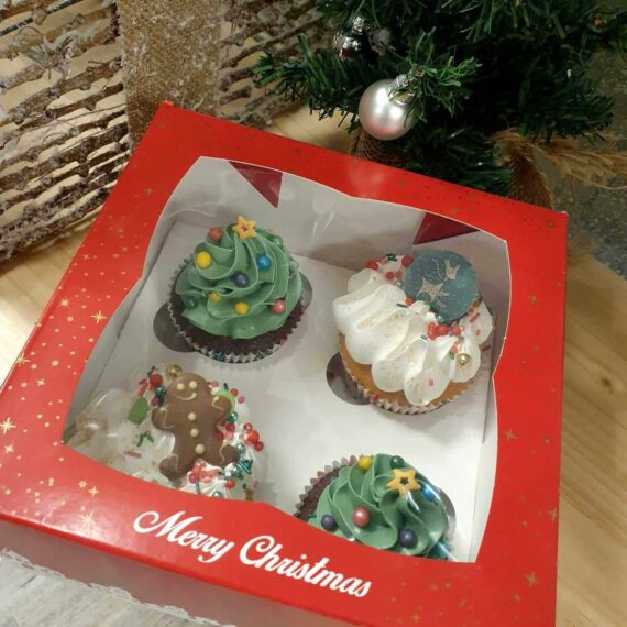 Illustratie cupcakes