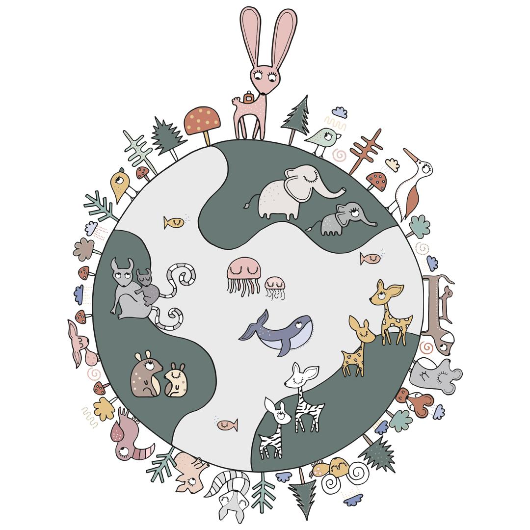 Kleurrijke dierenwereld - Sterre Kampman