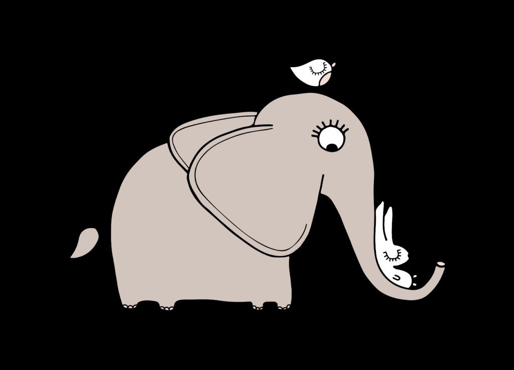 Oscar de Olifant en Huub de Haas